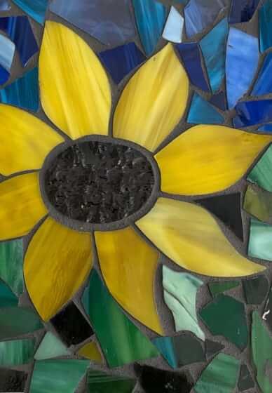 Glass Mosaic Class: Sunflower