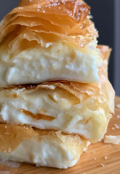 How to Make Cheese Bougatsa