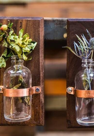Magnetic Wooden Vase Workshop